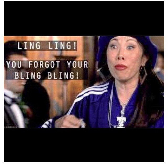 LING LING YO FORGOT YO BLING BLING http://t.co/M6jzXxm3