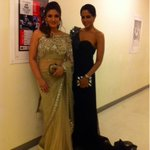 Backstage With the lovely @tandonraveena #iifa2012 !