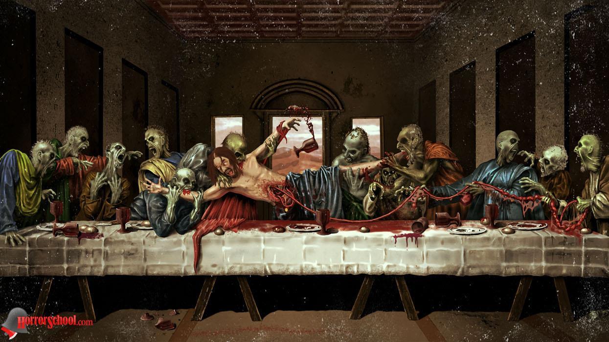 ¿Os Imaginas que cuando Jesús dijo comed y bebed todos de mi, los apóstoles se lo hubieran tomado al pie de la letra? http://t.co/oEaDVw7o