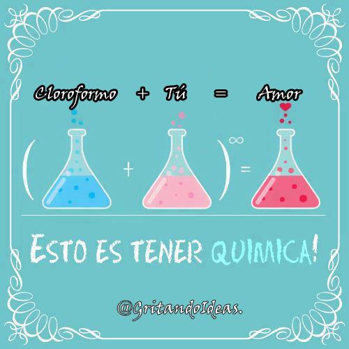 Formula química del amor. http://t.co/dKGZLT5v