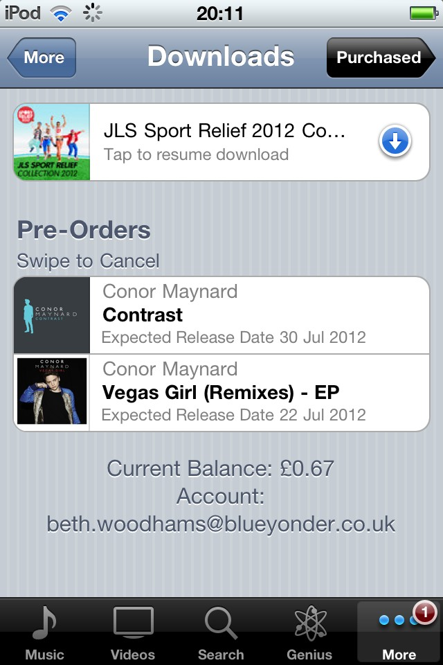 @ConorMaynard i've done it, and ive preordered contrast!! i think that deserves a follow right?! ♥ https://t.co/MnRVn6WS