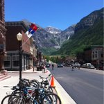 Rest day today in the stunningly-located town of Telluride, CO #acaWestExp