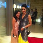 And IIFA begins! En route to the Shanghai premier! With my gorgeous stylist Meghna bhalla!