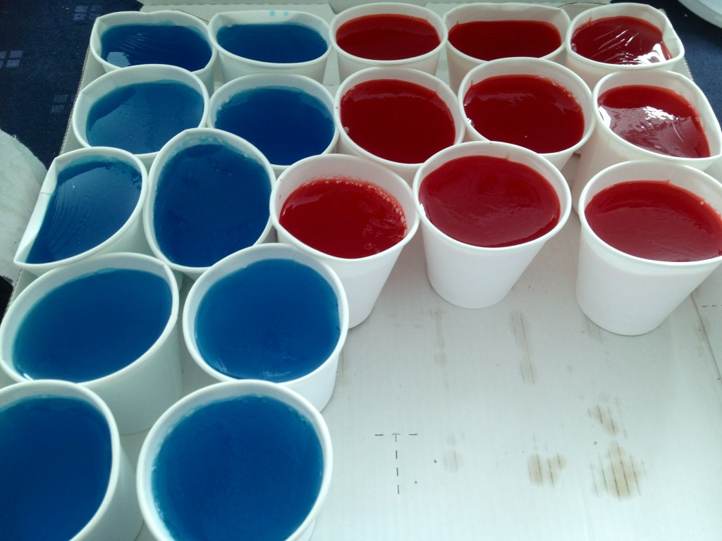 My homemade shots! Jelly + 소주! http://t.co/RBygDRI8