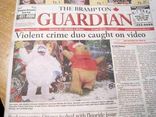 Alberto Cairo (@albertocairo): cc @charlesapple MT @ScottFilmCritic: If you only see one mismatched headline and photograph today, make it this one. http://t.co/70jW71tJvq
