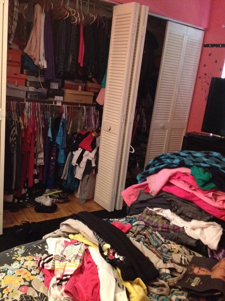 I'm attempting to 'clean' my closet. #help http://t.co/gzpvcaSG