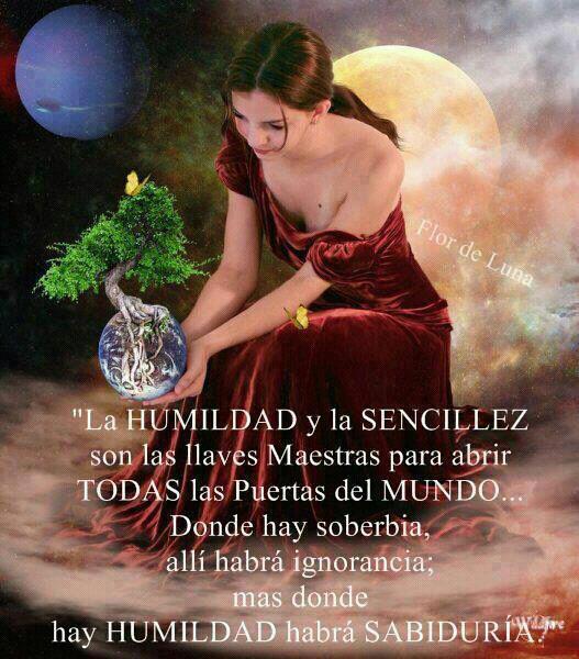La HUMILDAD y La SENCILLEZ son las llaves Maestras para abrir TODAS las PUERTAS del mundo....Donde hay soberbia, http://t.co/LKJF1zdT