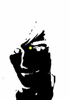 STARE AT THE DOT FOR 25 SECONDS THEN BLINK AT A BLANK WALL :D RT if it worked for you! http://t.co/l1jOG4LP