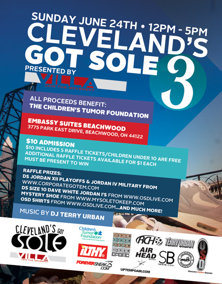 Don't forget! Cleveland's Got Sole 3 tomorrow from 12-5 at Embassy Suites in Beachwood! BE THERE! RT http://t.co/OlsBzn0U