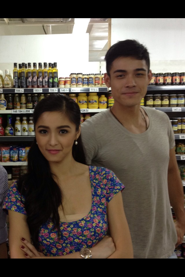 """@victoria_ti: Saw Xian Lim and Kim Chiu in Rustan's! Made my night :) http://t.co/xEwPg0pJ"""