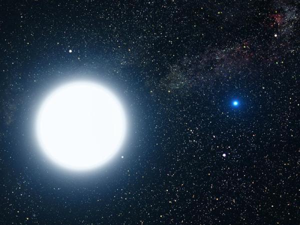별의 탄생이 있다면 종말 또한 존재합니다. 백색왜성은 이러한 중간 이하의 질량을 지닌 항성이 죽어가며 생성한 천체입니다. 대표적으로 시리우스B가 있습니다. 왼쪽의 밝은 별은 주계열성에 해당하는 시리우스A입니다. http://t.co/fZEjtWuf