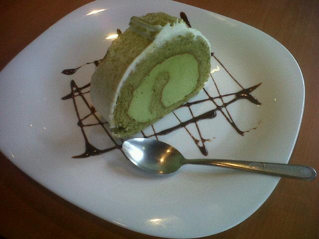 Aquí la foto del pastelito: http://t.co/f1qd3kuZ lo venden en Musume, en Rio Lerma... Recomendado!! #fb