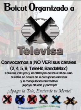 Y seguimos la lucha contra la manipulación de información y el monopolio q radica en este país! #TelevisaManipula http://t.co/r7L1xFNs