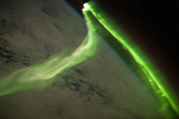 Aurora from the International Space Station. http://t.co/dCgGLqSP