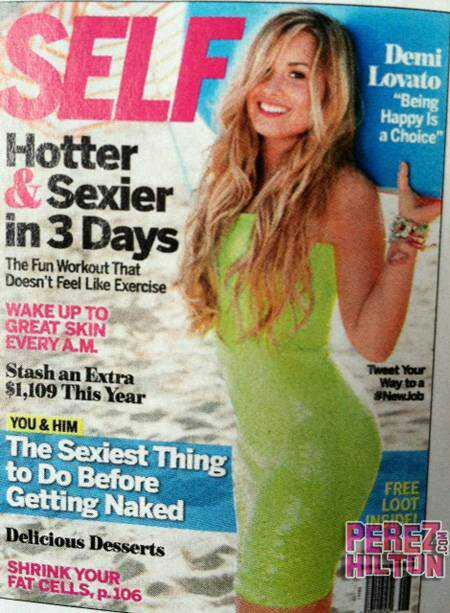 RT @ddlovatoSpain: Demi Lovato impresionante en la portada de SELF magazine! http://t.co/kXK0JJ8W