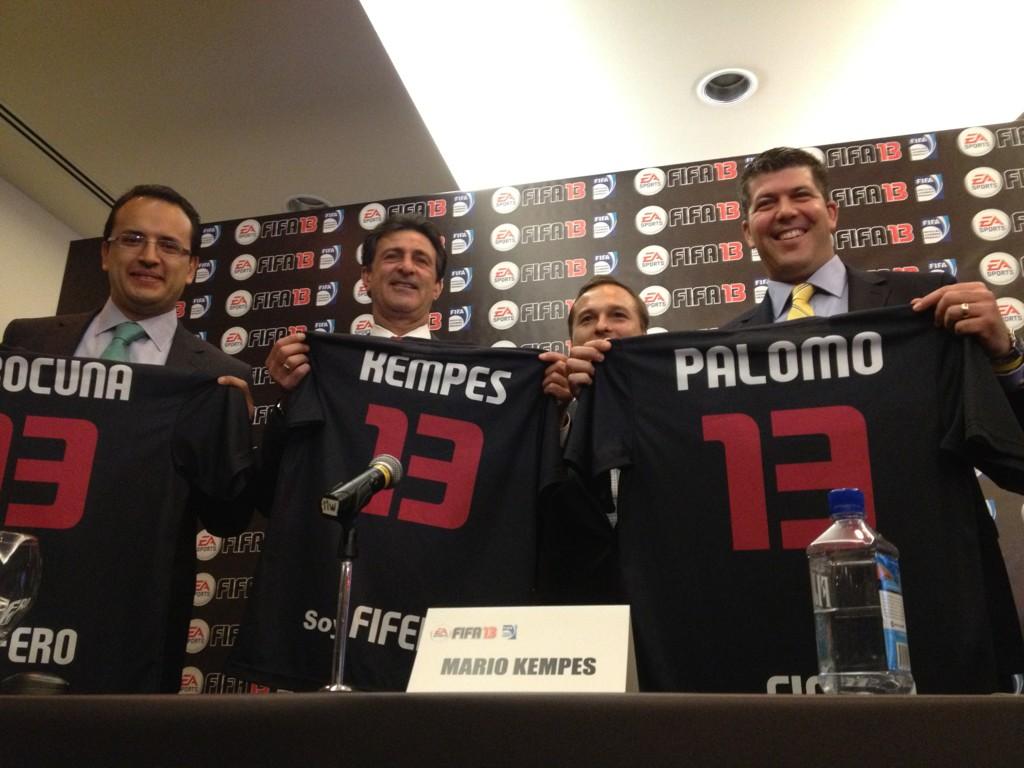 RT @Palomo_ESPN: Los nuevos narradores del #FIFA13 ... Han sido seis meses guardando el 'secreto'!!! Espero lo disfruten... http://t.co/ ...