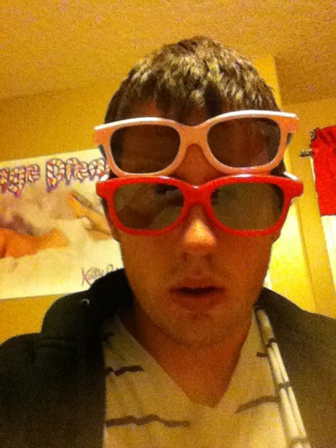yes four eyes. RT @kperryshusband: @katyperry Im very creative #KP3D http://t.co/eHc9hPCz