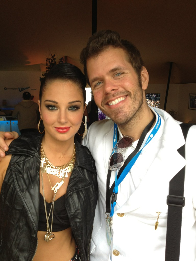 Me and Tulisa! #London #Wireless http://t.co/JvtyY4f2