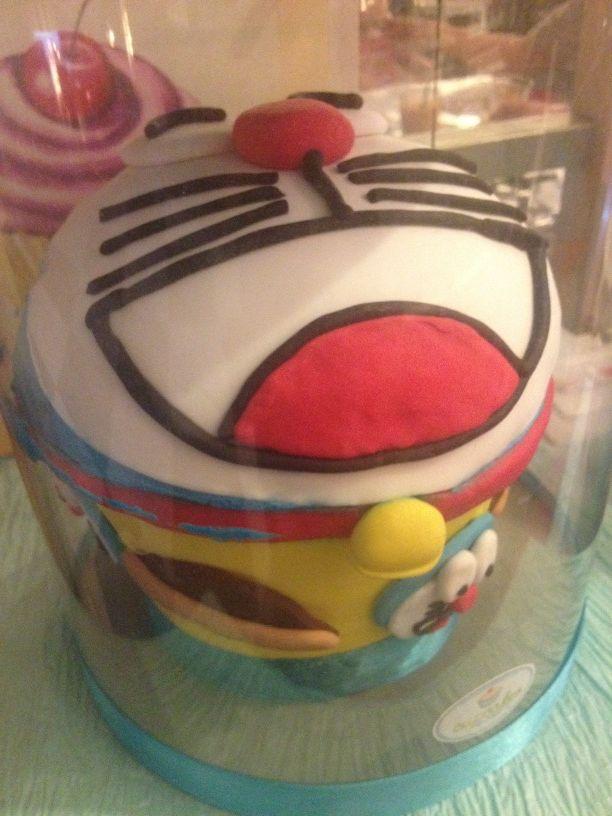 @Nurbaitirrr RT radityadika: Cupcake doraemon, buat mereka yg selama ini pengen ngunyah mukanya doraemon: http://t.co/88AeqOQj