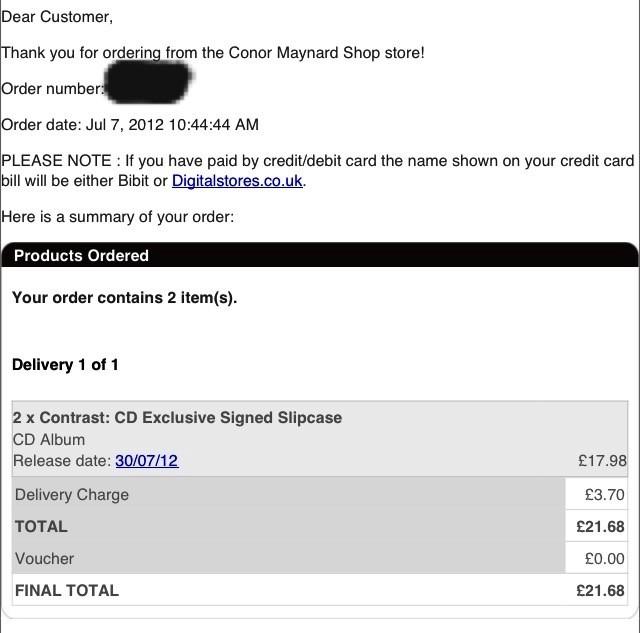 @ConorMaynard I preordered contrast twice! Can I please have a follow ?? #VegasGirl xx http://t.co/ndQSeugD