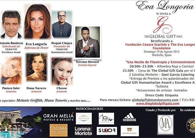 RT @BLoveBelen: RT @yotedare_chenoa @Chenoaoficial actuará en la gala solidaria @GlobalGiftGala el próximo 19 de agosto en #Marbella htt ...