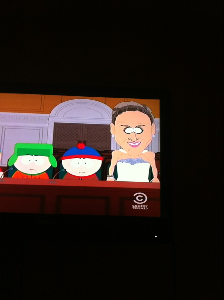 LMAO transvestite donkey witch �� #southpark #sarahjessicaparker http://t.co/Zeqwuxss