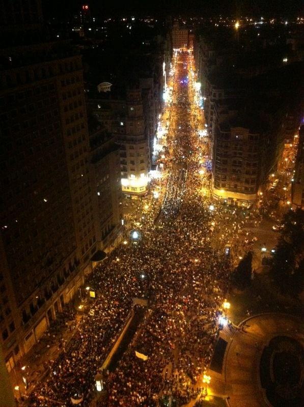 RT @perkk: Impresonante! Sí se puede! #nocheminera #silencioinfomativo http://t.co/Ybb6iia5