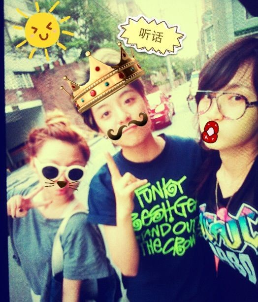 '@llama_ajol: bout a week ago hehe my sisters 한일주일전 ㅋㅋ@missA_jia @missA_min http://t.co/xu5xwk5V' cute! amber the king ! hehe.girls day out!