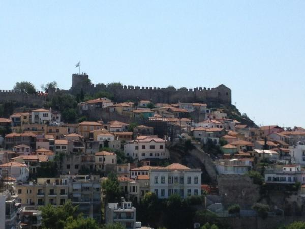 Mario Frangoulis at the Castle in Kavala for a solo piano voice Concert Tonight 11/07 at 9:00 http://t.co/sqIgsMMv