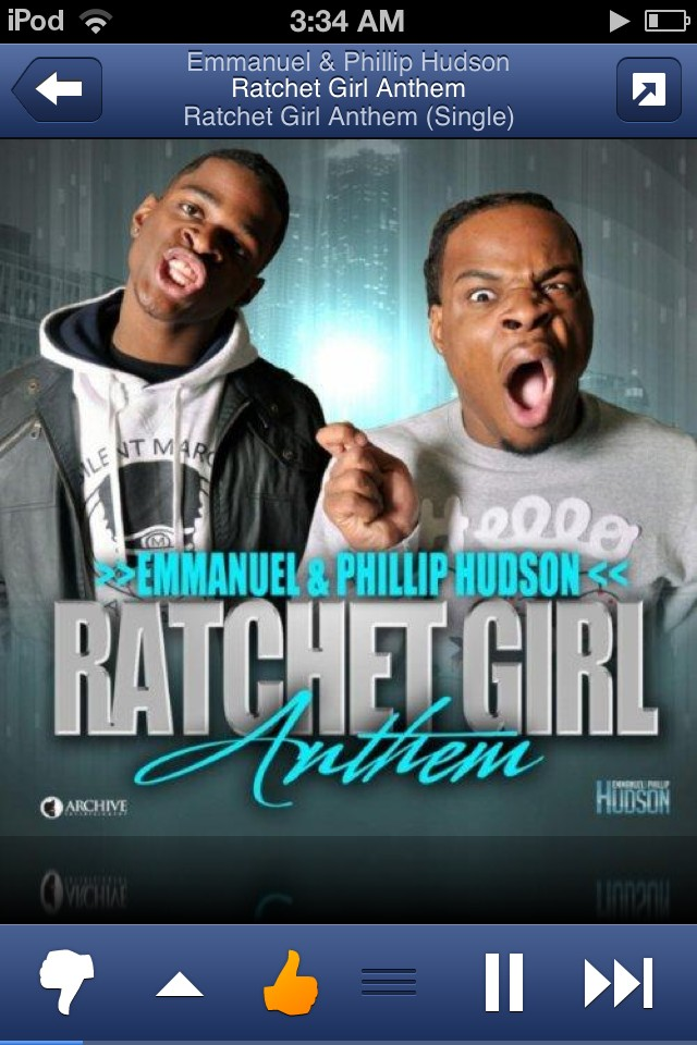 Since when was this a real song & on pandora lol wot http://t.co/5s14nFX8