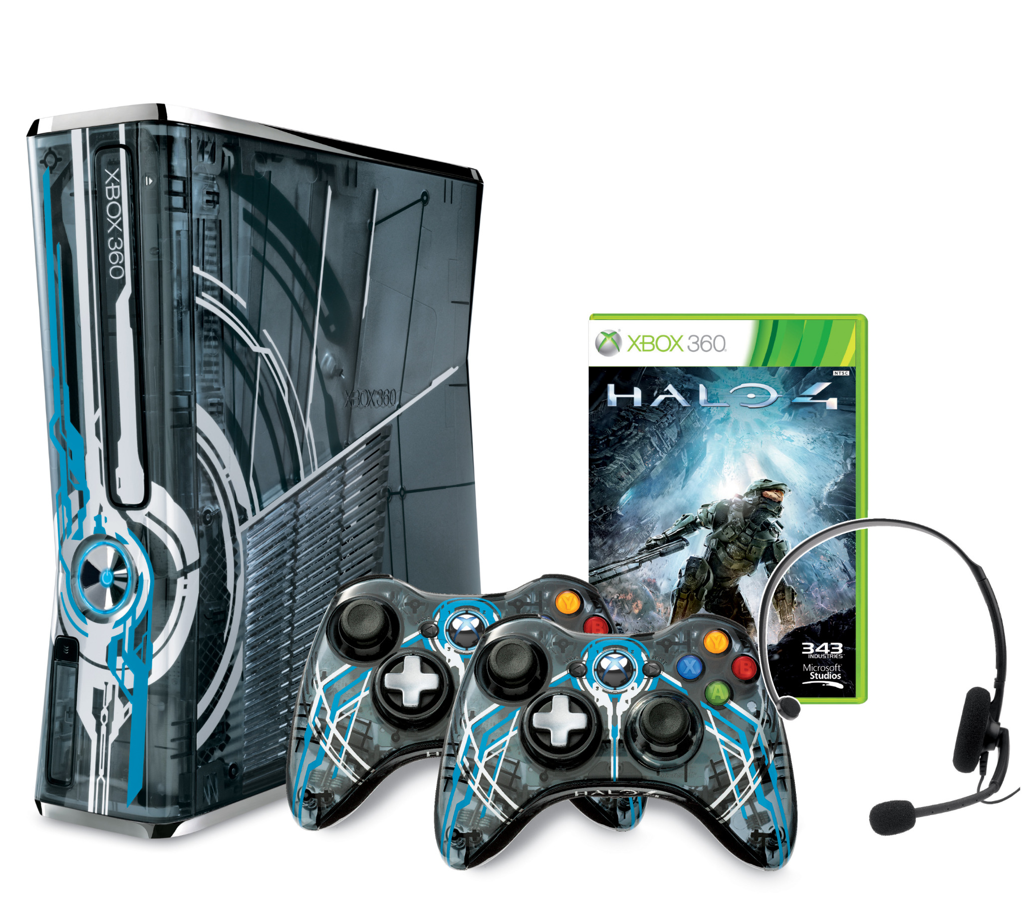 Announcing the @Xbox Limited Edition Halo 4 Console, with 320 GB hard drive, 2 controllers, and a copy of #Halo4 (RP)! http://t.co/xekDAexe
