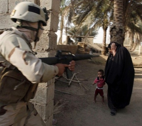 #MuslumanBiriNSAN Merhametli ve vicdanlıdır. Gerçek terörist kim? (Who is the real terrorist?) #MuslimsAreNotTerrorists http://t.co/RLMQvALw