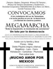 '@LeniaBatres: #MegaMarcha 22 de julio, 16:00 http://t.co/n2cbyxYy #MexicoExigeDemocracia'/ Me encanta todo lo q inventan estos!! Jajajaja