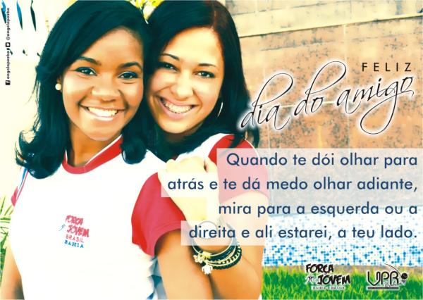 Força Jovem Bahia (@fjbahia): #FelizDiaDoAmigo #prjeanmadeira #euvistoacamisadotemplo @LeandroFJB_ @prjuliosantos @prjeanmadeira @gabehs http://t.co/qxFUOyCh