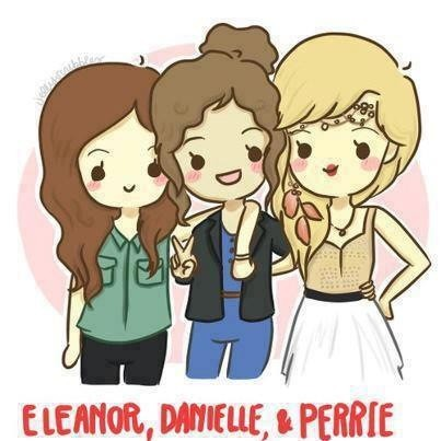 RT @1Dmy_life_: Aww!! Eleanor,Danielle and Perrie!! So cute <3 x http://t.co/YQyN5gKS