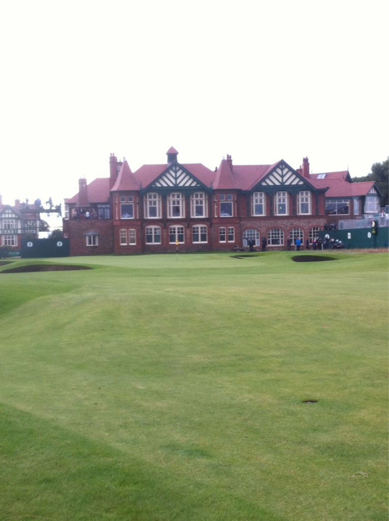 The 18th green #TheOpen2012 @14_andy http://t.co/l7CIIATo