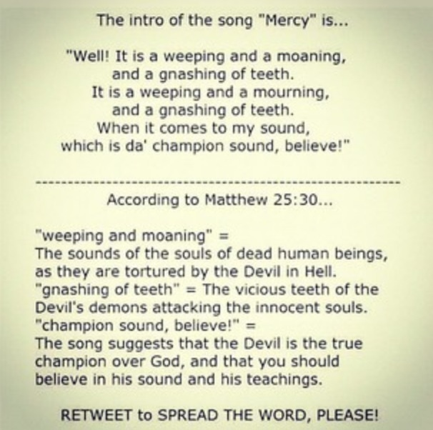SMFH! i lost respect for the song Mercy. http://t.co/r2f47ljP