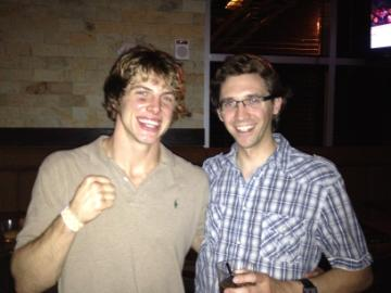 RT @ScottHennig: Me at @loungeburger w. Submission of the night winner Matt Riddle #yyc #UFC149 http://t.co/XcUCXA9V