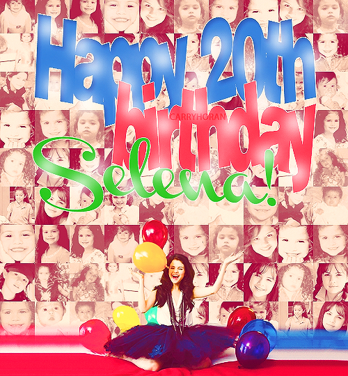 @selenagomez  OMG!! HAPPY BIRTHDAY SEL.I LOVEE YA SO MUCH AND IN THIS DAY ALL YOUR DREAMS NEED TO COME TRUE.KISSES :*** http://t.co/mUujz4tu