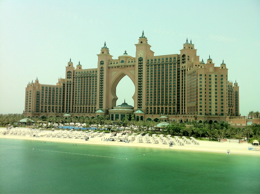 Ah Indiana I've found it!The mythical island of Atlantis!AND it is..err pink & has grt err waterslides! #DubaiCooldown http://t.co/Jhu69Oqt