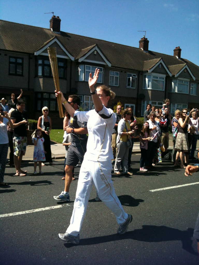 Olympic Torch coming through Hornchurch http://t.co/WMEOBXoO
