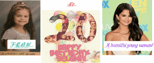 @selenagomez i made this for your #20thBirthday i love you sel ♥ ♥ http://t.co/JKwZxjfo