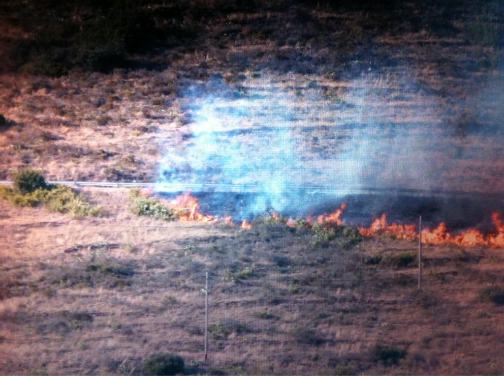 @tv3cat @lanitarac1 @LaVanguardia @diariARA @8aldia fotos que m'ha passat un veí de Portbou on es veu l'inici del foc http://t.co/ydRwNHjV