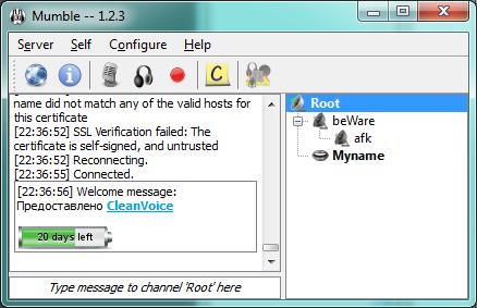 Как создать свой сервер в mumble
