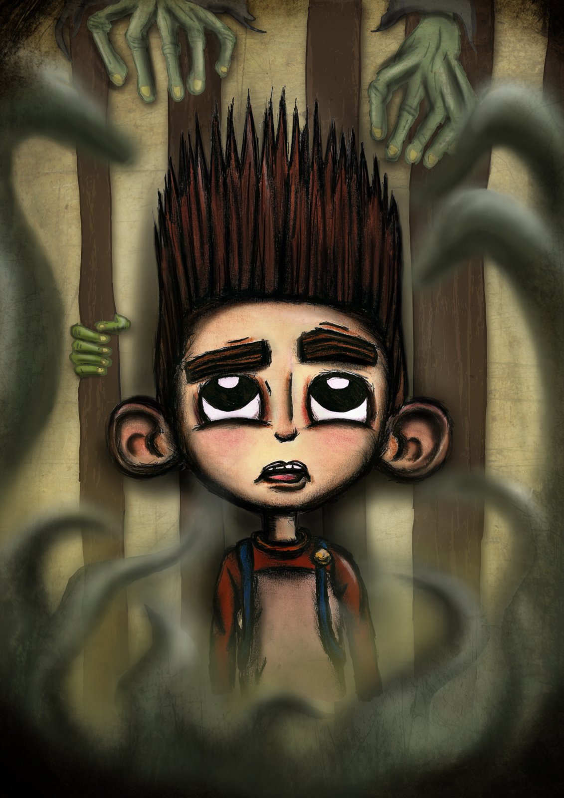 RT @AshBob87: my ParaNorman piece, finally finished. Can't wait for the release. #weirdwins #paranorman @ParaNorman http://t.co/MItWe1nO