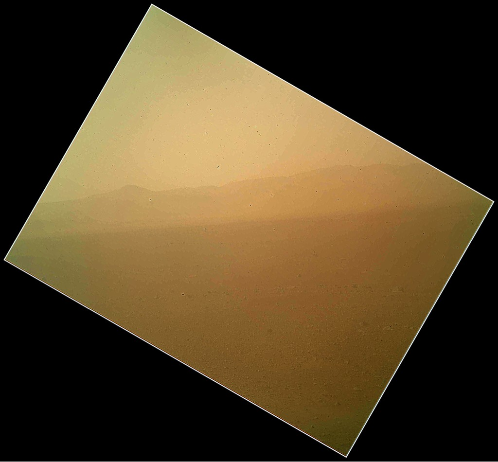 RT @allywalker1: RT @MarsCuriosity: Good golly miss MAHLI! New color pic from Mars Hand Lens Imager shows tan sands http://t.co/xeIhlvn0