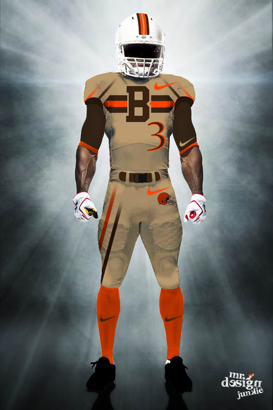 @TravisBenjamin3  NEW Cleveland Browns 'Tan' concept uniform #cleveland #browns #brownie #nike #nfl #mrdesignjunkie http://t.co/asQC2u6k