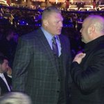 PHOTO: Brock Lesnar attends UFC 184 http://t.co/RpTEgsnCNP http://t.co/zEWSvnMnlq