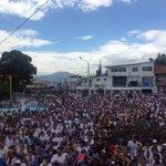 Marcha de hoy 28-F en San Cristóbal. Y sin autobuses!! #YoNoSoyIndiferente @GenPenaloza @NelsonBocaranda http://t.co/PkhCl5rT6L