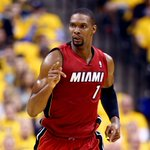 THIS JUST IN: Chris Bosh has been released from hospital as he continues to recover from blood clots on his lungs. http://t.co/BJiGC5VflP